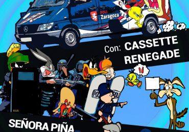 """PAR Zaragoza lamenta la cesión de un solar público por parte de ZEC para la fiesta """"antirrepresiva"""", y expresa su solidaridad con los sindicatos policiales"""