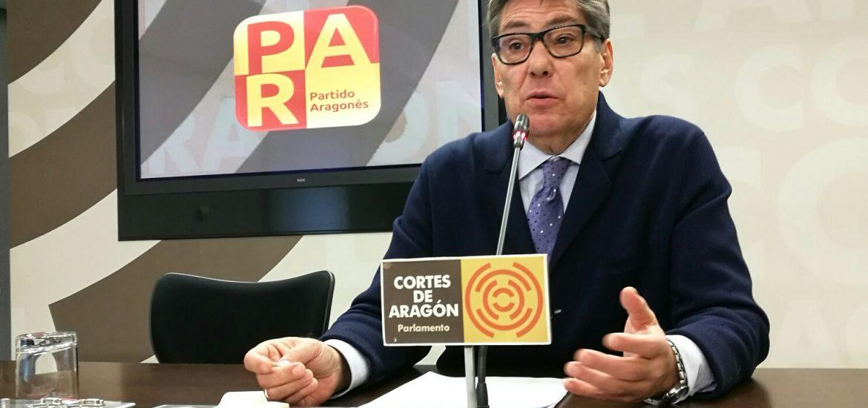 El PAR lleva al pleno de las Cortes su indignación por el ataque soberanista a la cruz del Aneto y a otros símbolos de Aragón