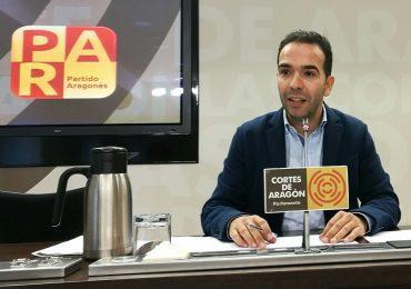 """Jesús Guerrero (PAR): """"Queremos que la DGA reconozca que el comercio es un eje estratégico en Aragón y lo apoye con partidas económicas»"""