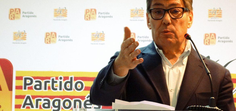 Arturo Aliaga reafirma en Huesca la vocación de gobierno del PAR y su decisión de trabajo por Aragón y por los aragoneses