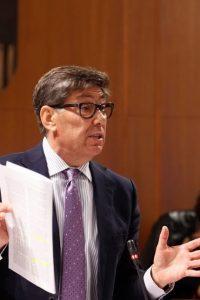 Aliaga urge la estrategia contra la despoblación y financiación justa para Aragón