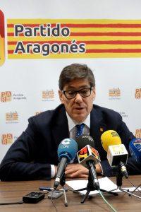Aliaga lamenta que la DGA no haya logrado que el Gobierno de Sánchez respetara en los PGE los 15 millones que incluyó el PAR para el Canfranc