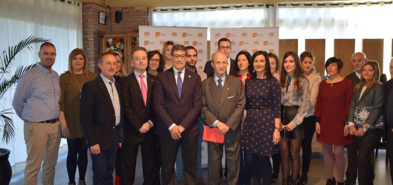 Comida homenaje a Hipólito Gómez de las Roces. Navidad 2017 en Zaragoza