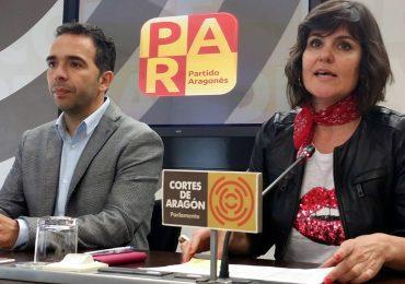 El PAR exigirá en las Cortes más apoyo económico a Cruz Blanca ante el grave y definitivo recorte de ayudas por la DGA