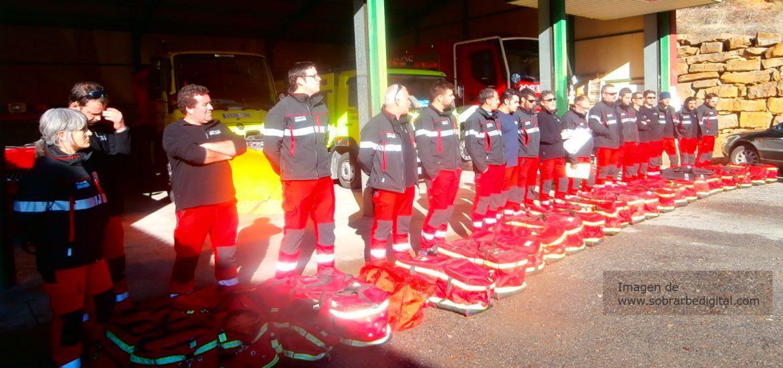 El PAR de Sobrarbe exige una solución inmediata a la ausencia de bomberos en la comarca y reclama apoyo a los voluntarios