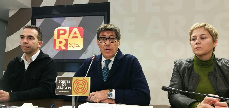 """El PAR dice que sería """"inaceptable e imperdonable"""" que el tren """"EVA"""" de bajo coste pasara de largo por Aragón"""