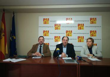 """El Partido Aragonés tacha de """"antiturolense y traidora"""" la reforma de la Ley Electoral  que plantean algunos partidos y que califican de """"partidista"""""""
