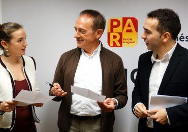 El PAR enmienda los Presupuestos 2018 de la DGA para impulsar el desarrollo y bienestar en Huesca y el Alto Aragón