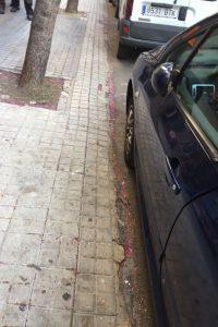 PAR Zaragoza denuncia el pésimo estado de la Calle Ricla (Centro)