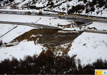 El PAR pide garantías para servicios, suministros y actividad de Jacetania y Alto Gállego y plantea medidas ante el hundimiento en Monrepós
