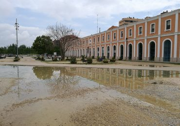 PAR Zaragoza reclama solución para la explanada del Centro Cívico de la Estación del Norte