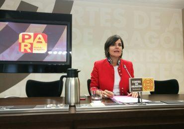 Elena Allué reclama a la DGA que cumpla la ley y haga públicas las retribuciones percibidas por los cargos públicos y los gastos de viajes
