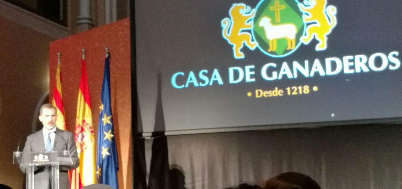 Arturo Aliaga asiste a los actos conmemorativos del 800 aniversario de la fundación de la Casa de Ganaderos e inauguración de las nuevas Instalaciones de Pikolín