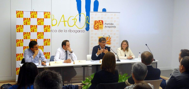Aliaga (PAR) reclama leyes excepcionales y presupuestos para dar vida al medio rural aragonés frente a la despoblación