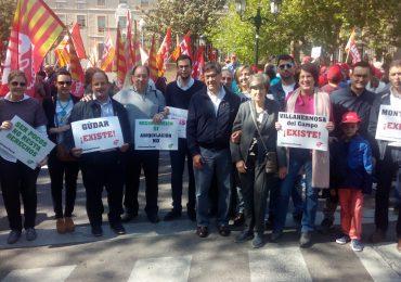 """El Partido Aragonés acude a la manifestación celebrada en Zaragoza bajo el lema """"Salvemos Teruel"""""""