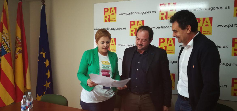 """El Partido Aragonés plantea una reforma """"seria"""" de la PAC y exige a los gobiernos central y autonómico compensar la pérdida de fondos"""