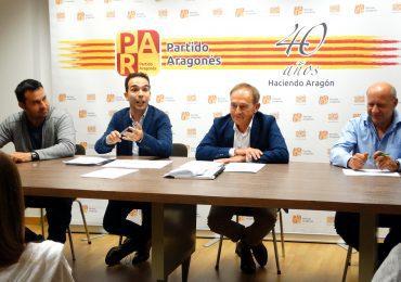 El PAR del Alto Aragón pide a todos los partidos que apoyen las enmiendas del Partido Aragonés a los PGE para Aragón y los aragoneses