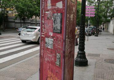 PAR Zaragoza reclama restaurar o reponer los carteles informativos sobre los Sitios de Zaragoza
