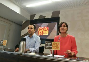 El PAR pide que se declare zona catastrófica los municipios de Aragón gravemente afectados por las tormentas de mayo, junio y julio
