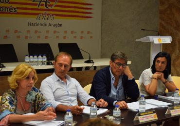 """""""Las enmiendas afectan a temas capitales para los aragoneses"""""""
