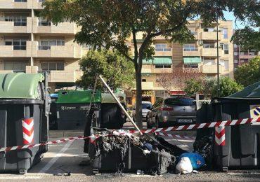 PAR Zaragoza vuelve a reclamar contenedores ignífugos