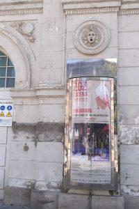 PAR Zaragoza reclama arreglo de la fachada del Teatro Principal, en Plaza José Sinués
