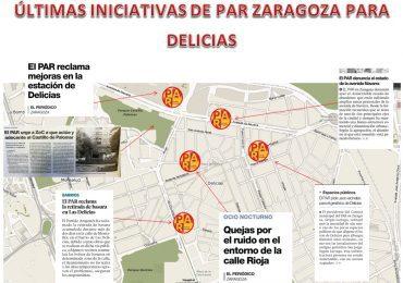 EL PAR Zaragoza exige medidas efectivas para paliar los problemas de ruido y altercados que sufren diversos barrios de la ciudad