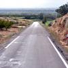 Carretera del entorno de Binaced-Valcarca