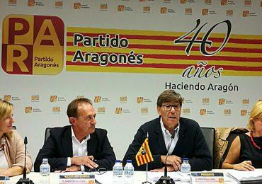 """Aliaga: """"La ejecución de la inversión para el Canfranc en los PGE es irrenunciable para el PAR, que logró incluir más de 15 millones para su mejora y reapertura"""""""