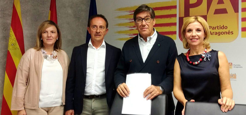 El PAR advierte que el gobierno podría estar ralentizando inversiones de los PGE 2018 en Aragón con tal de favorecer a otros territorios y objetivos