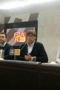 El PAR reclama a Fomento que haga los deberes e invierta en Huesca los dineros que el PAR logró incluir para la provincia en los PGE