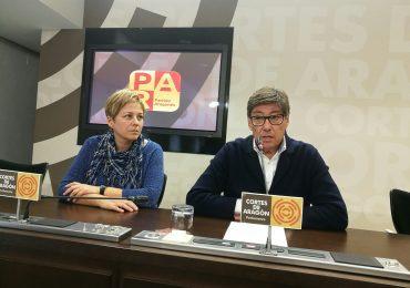 Aliaga urge una estrategia Aragón-Estado para evitar el cierre de la térmica de Andorra  y acusa a Endesa de falta de responsabilidad y le pide que rectifique