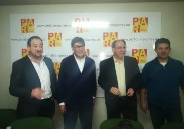 Julio Esteban presenta su candidatura para la Alcaldía de Teruel por el Partido Aragonés