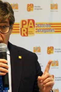 Aliaga dice que el futuro de Aragón y el trasvase «no casan»