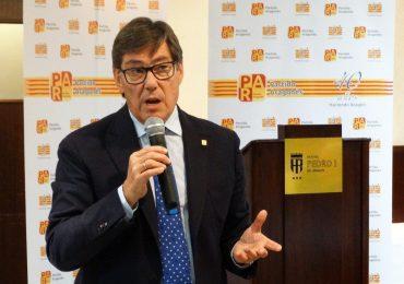 Aliaga (PAR) se compromete a trabajar desde el Gobierno de Aragón para impedir que en 2020 se cierre la térmica de Andorra