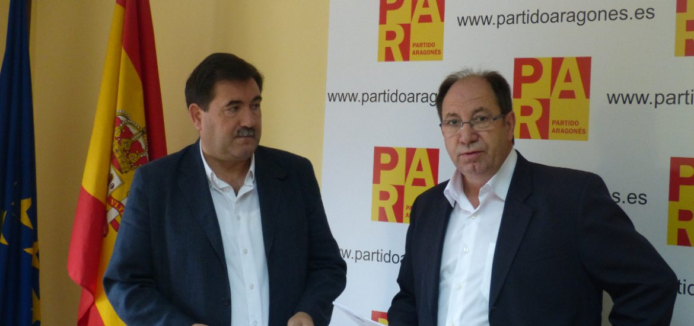 """El Partido Aragonés respalda los Presupuestos municipales para que la ciudad """"no se paralice por las elecciones"""""""