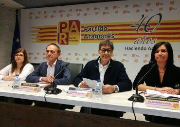 """""""El trabajo en el territorio es esencial para que el PAR siga defendiendo a los aragoneses"""""""