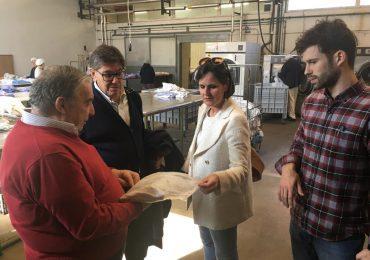 Arturo Aliaga y Elena Allué muestran su respaldo a las empresas sociales, ejemplo de superación y valor