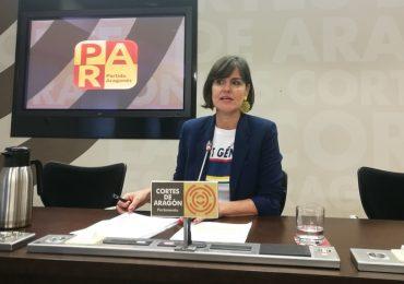 Elena Allué (PAR) reclama una normativa razonable sobre los VTC, que blinde los intereses del taxi