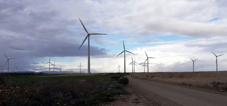 El PAR propone en Gurrea de Gállego un plan de retornos sociales y acciones de promoción por los parques eólicos del municipio