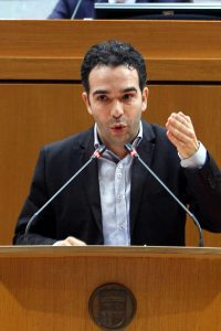 """Guerrero (PAR) insta a Fomento a intervenir """"urgentemente"""" en los puntos negros de Aragón ejecutando los desdoblamientos"""