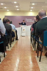 Aliaga reivindica el compromiso histórico del PAR con el territorio