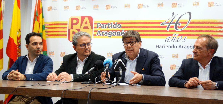 Jesús Guerrero, Fernando Carrera, Arturo Aliaga y Joaquín Serrano