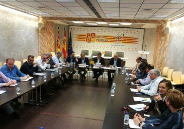 El PAR prima la presencia del territorio y presenta listas renovadas a las Cortes Aragón