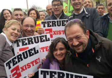 """Aliaga avisa de que el """"éxito"""" de la manifestación de la España Vaciada """"no puede caer en saco roto"""""""