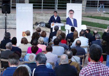 Acto central de campaña del PAR en Huesca-1