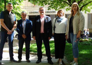 Carrera (PAR) apela a la unidad de todas las fuerzas políticas y sociales de la ciudad para defender los proyectos de Huesca y los oscenses