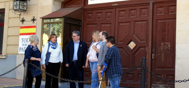 Carrera (PAR) reclama más colaboración entre administraciones para los proyectos de Huesca