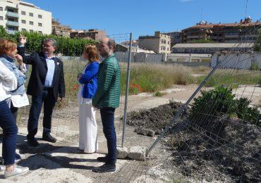El PAR se compromete a gestionar una solución para el polígono de las harineras y para Huesca