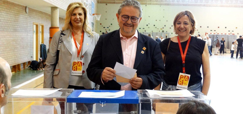 Carrera (PAR) llama a todos los oscenses a votar y a participar en la tarea común que es Huesca